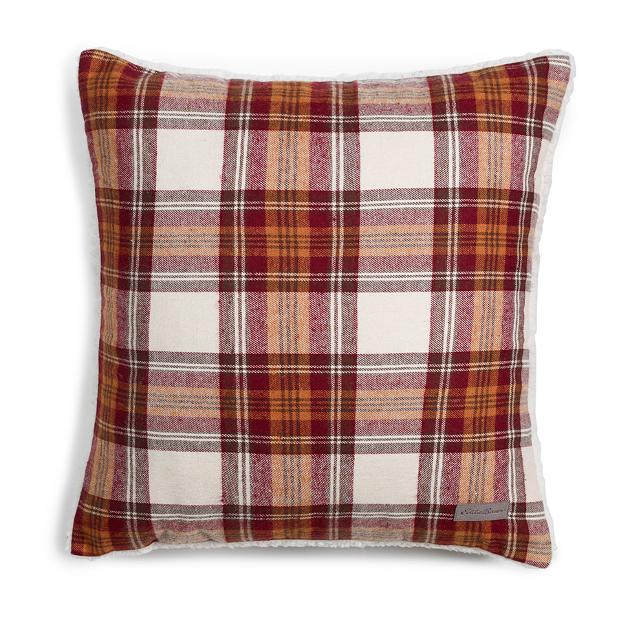 Decorative Plaid Pillows : Eddie Bauer Edgewood Plaid Red Flannel Decorative Pillow from Beddingstyle.com