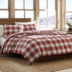 Edgewood Plaid Comforter Set
