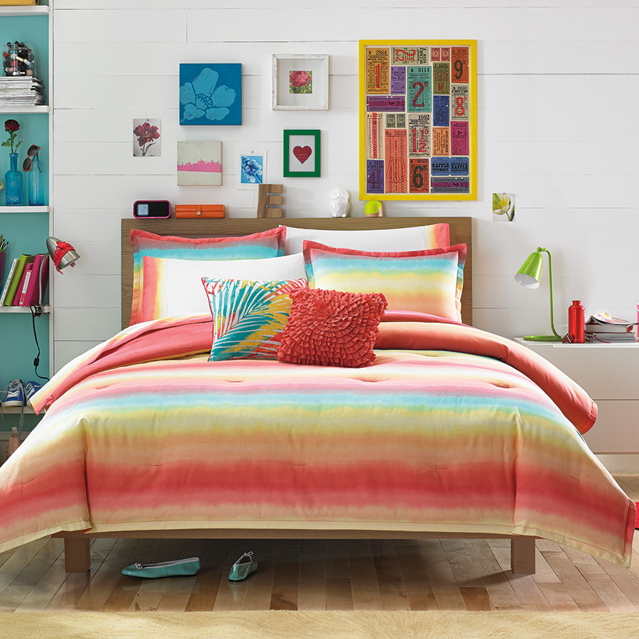 Twin Comforter Set Teen Vogue Electric Beach