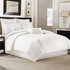 Manor Hill Ellis Ivory Comforter & Duvet Cover Set