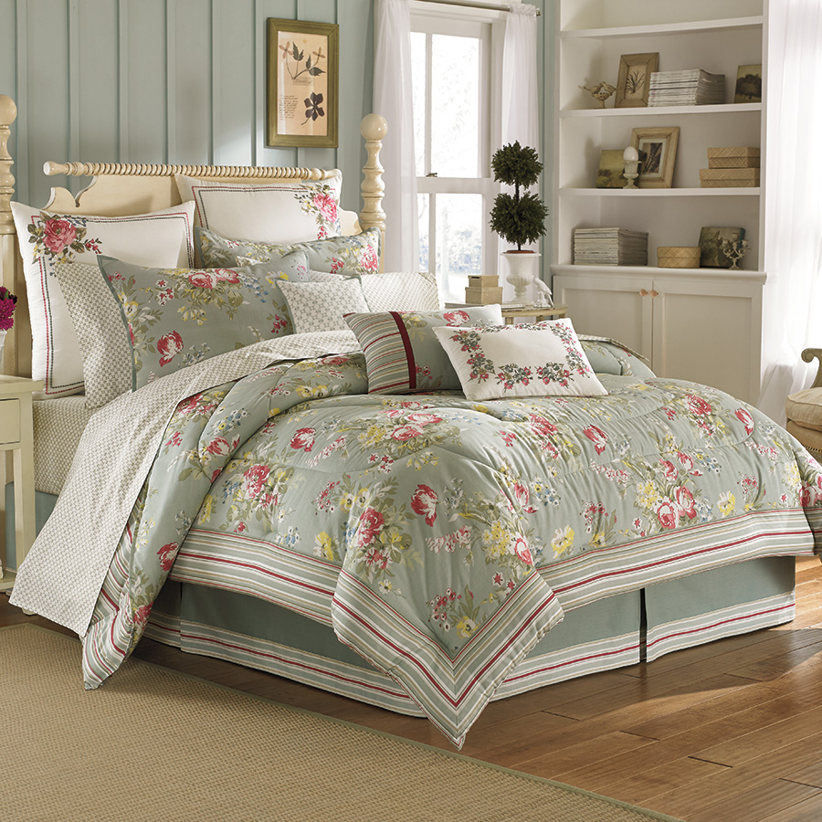 laura ashley eloise comforter sets from