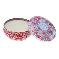 English Garden Travel Tin Candle