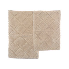 English Garden Twine Bath Rug Set