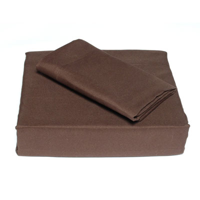 Perry Ellis Espresso Solid Sheet Set
