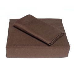 Espresso Solid Sheet Set