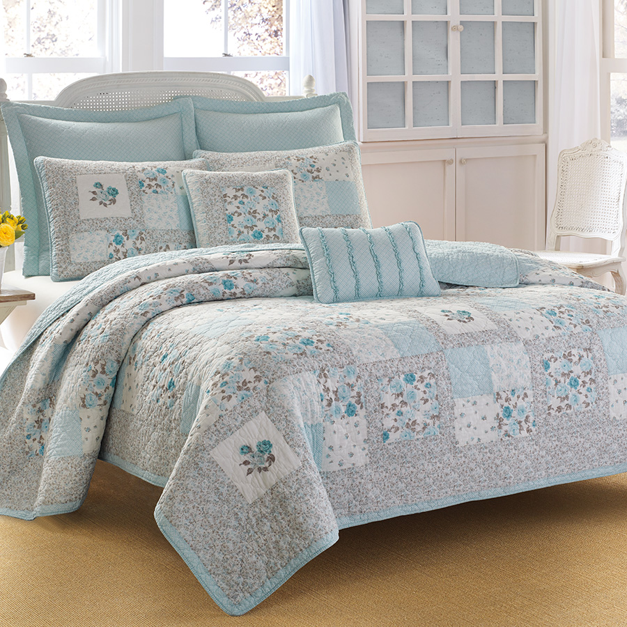 Laura Ashley Everly Quilt Set From Beddingstyle Com