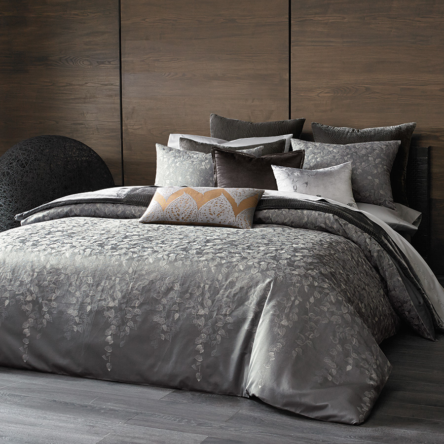 King Coverlet Kevin O Brien Cirrus Pewter
