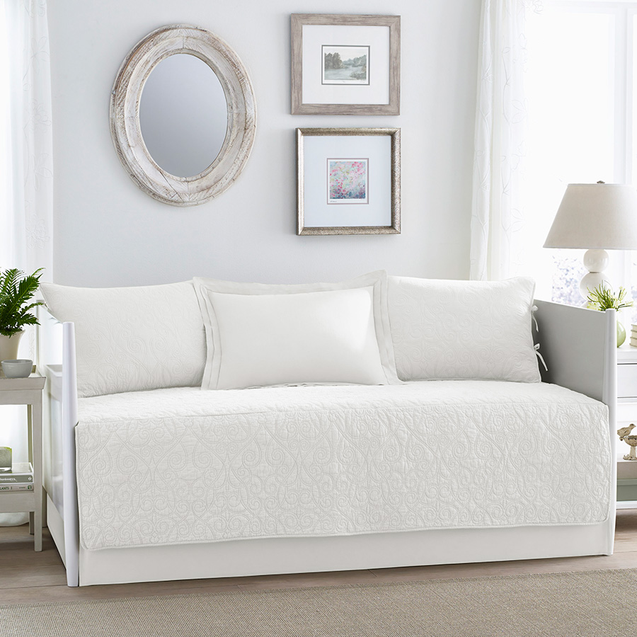 Daybed Set Laura Ashley Felicity White
