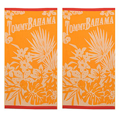 Fiji Orange 2-Piece Beach Towel Set