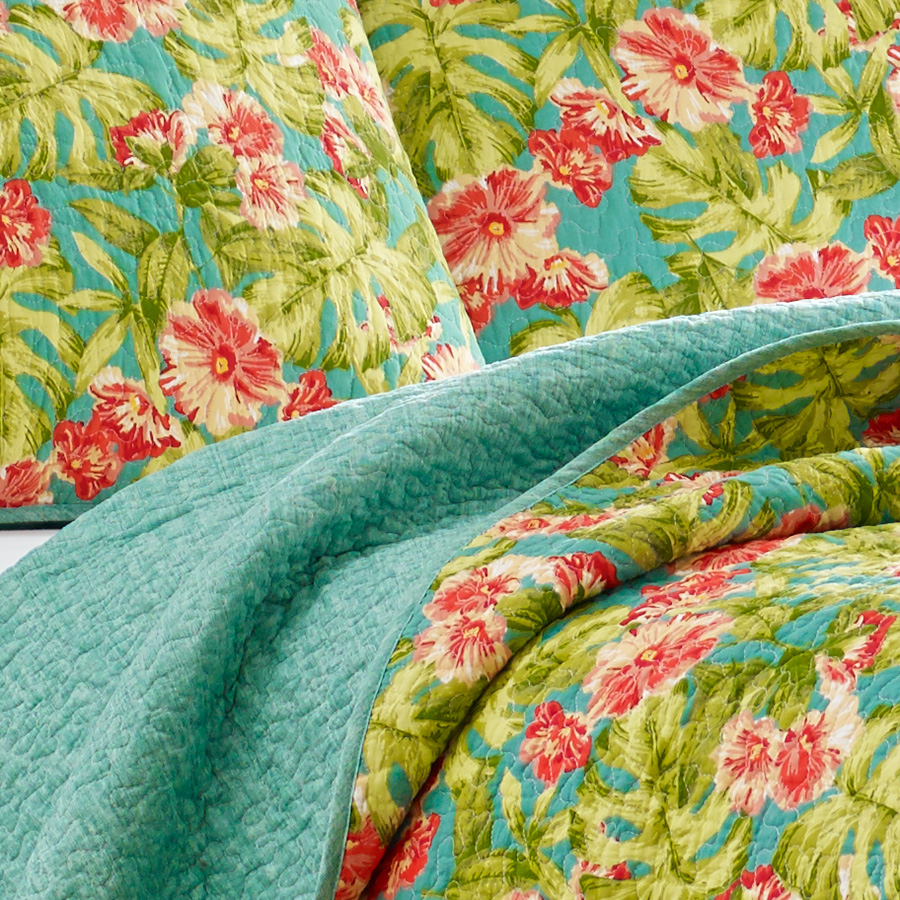 Tommy Bahama Flamingo Road Quilt Set From Beddingstyle Com