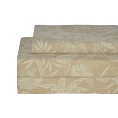Floral Palm Sheet Set