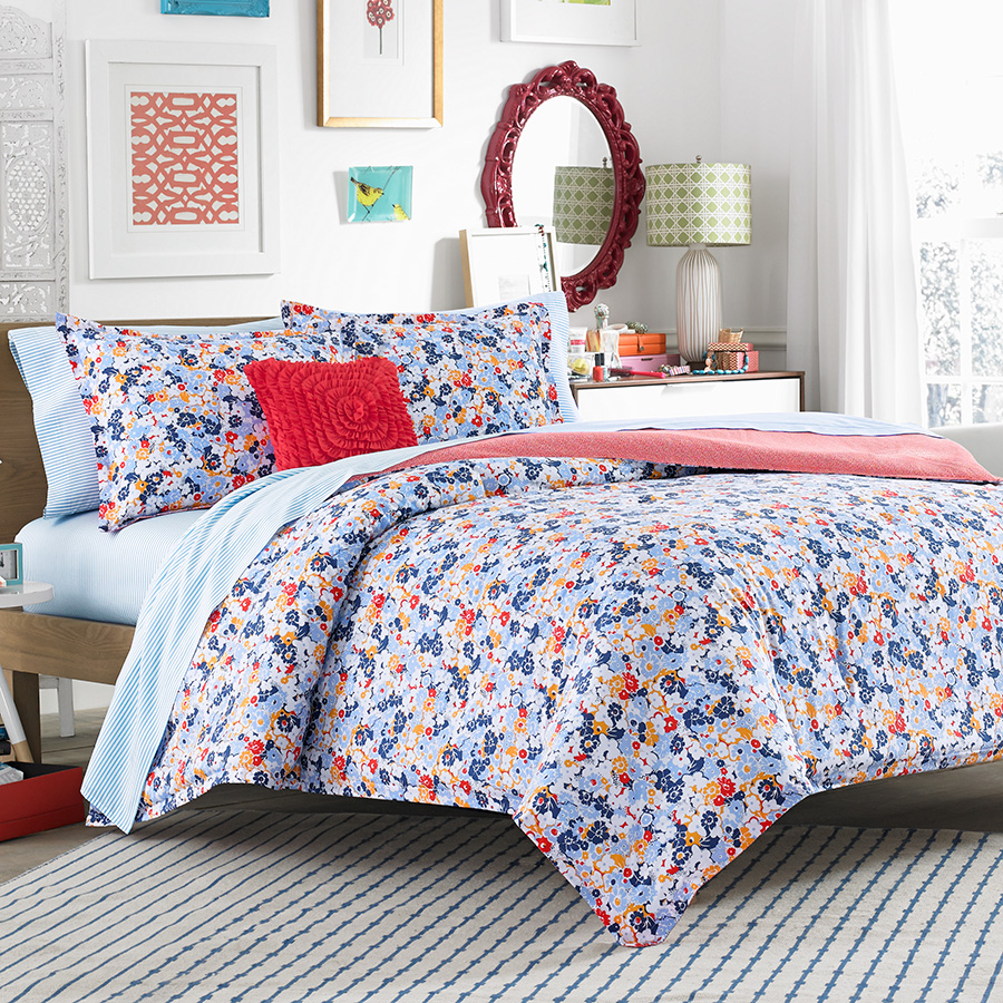 Full Sheet Set Teen Vogue Floral Frenzy