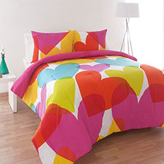 Agatha Ruiz De La Prada Flying Hearts Comforter Set