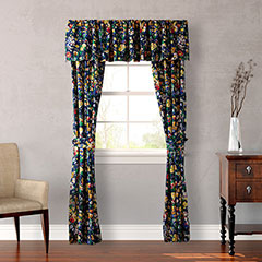 Teen Vogue Folksy Floral Window Treatment