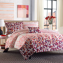 City Scene Forget Me Not Comforter & Duvet Set