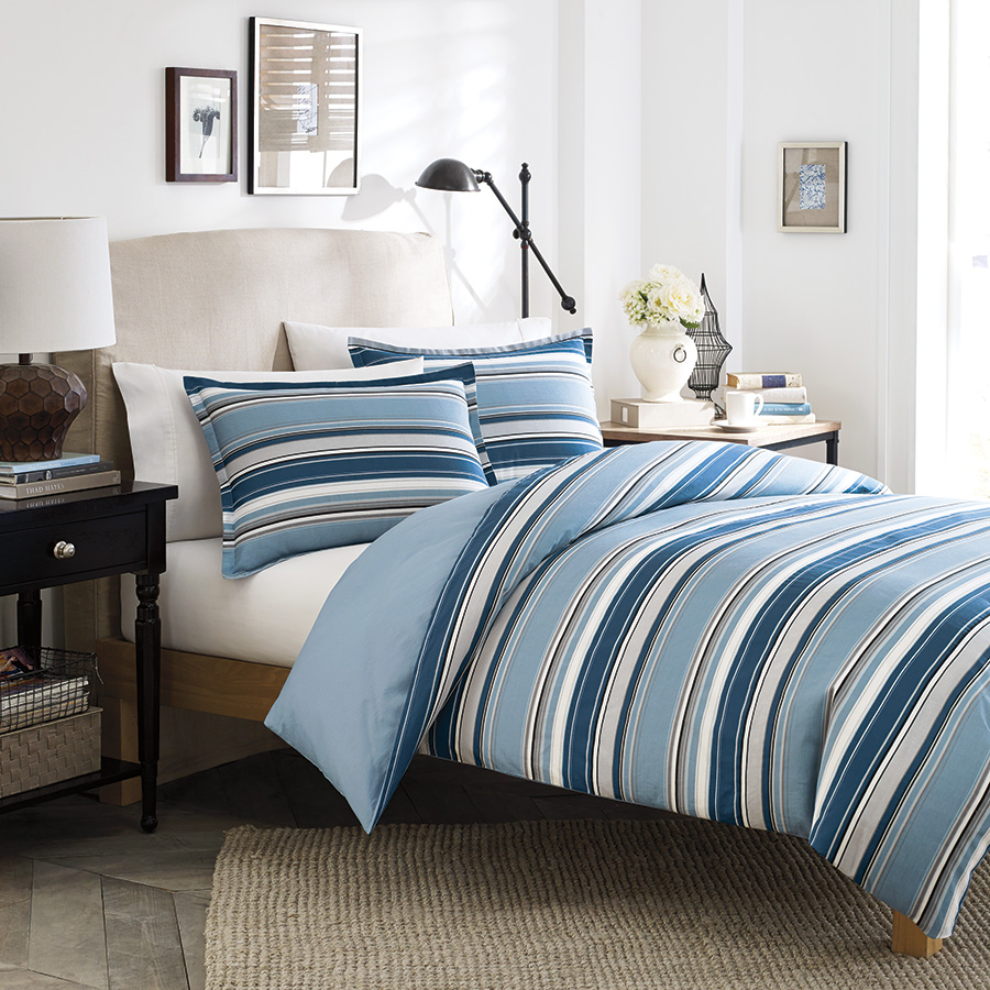 Stone Cottage Frenso Blue Comforter Set From