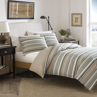 Stone Cottage Fresno Neutral Duvet Set