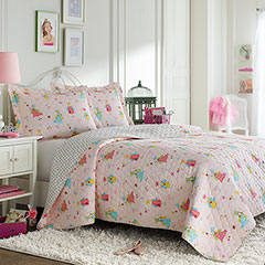 Laura Ashley Fun Fairies Quilt Set