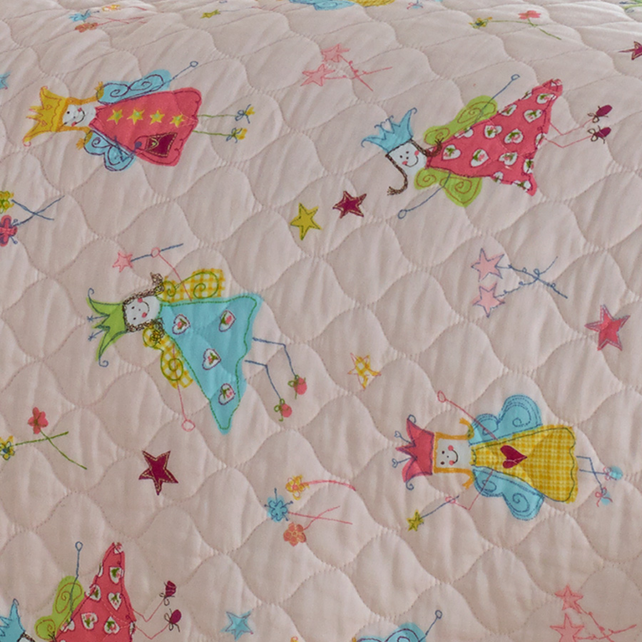 Laura Ashley Fun Fairies Quilt Set From Beddingstyle.com