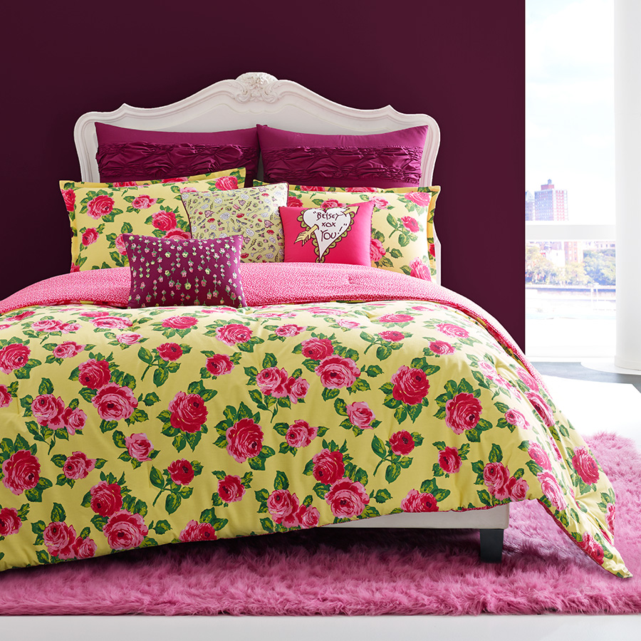 Betsey Johnson Garden Variety Bedding Collection From