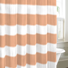 Nautica Guardhouse Stripe Crab Claw Shower Curtain