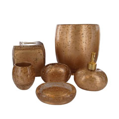 Gold Rush Bath Accessories