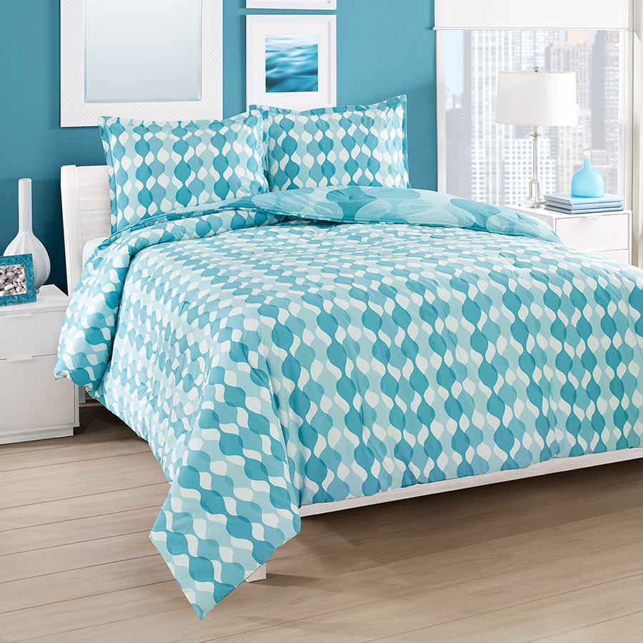 City Loft Good Vibes Reversible Comforter Amp Duvet Set From