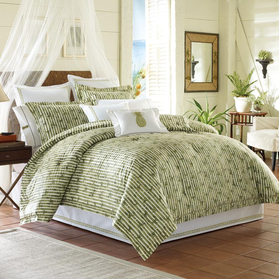 Tommy Bahama Tropical Grand Banyan Queen Bed Comforter Set