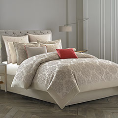 Grand Damask Comforter & Duvet Cover Set