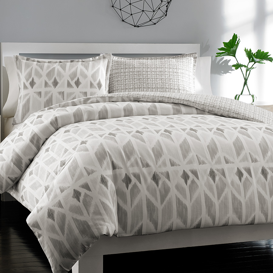 City Scene Grayson Duvet Set From Beddingstyle Com