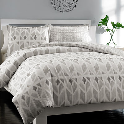 City Scene Grayson Reversible Duvet Set