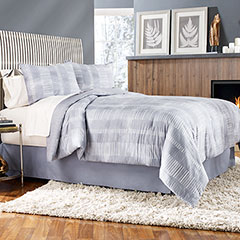 Grid Work Comforter & Duvet Cover Set