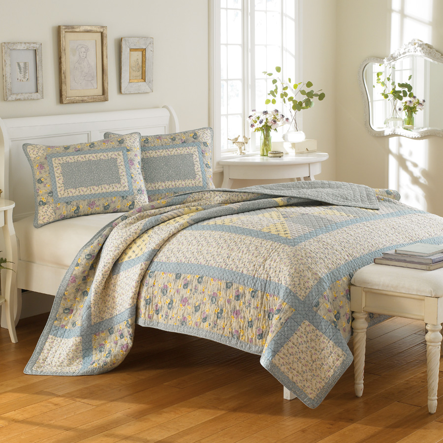 Beddingstyle Laura Ashley Hadleigh Quilt