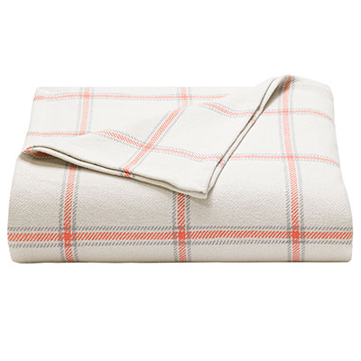 Nautica Halsted Coral Blanket