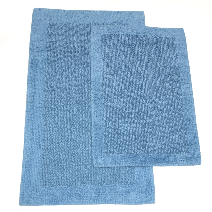 Wonderful Bathroom Rugs  Blue Bath Rugs Extra Large  Contemporary  Bath Mats