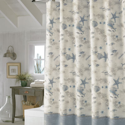 Tommy Bahama Hawaiian Islands Shower Curtain