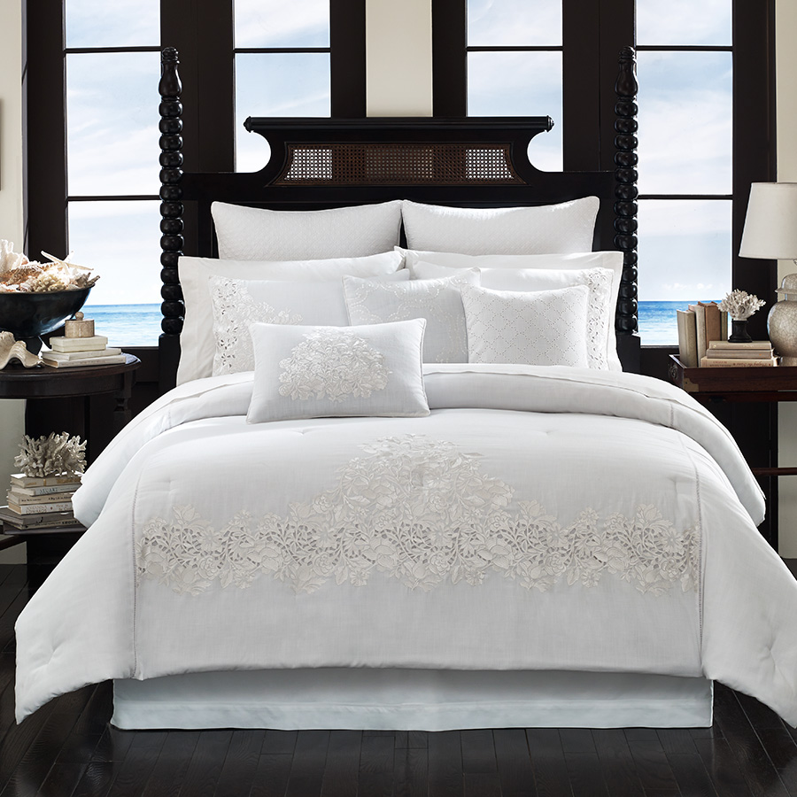 Bedding Decor: Tommy Bahama Heirloom Comforter Set From Beddingstyle.com