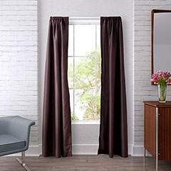 Heritage Landing Coffee Bean Window Treatments