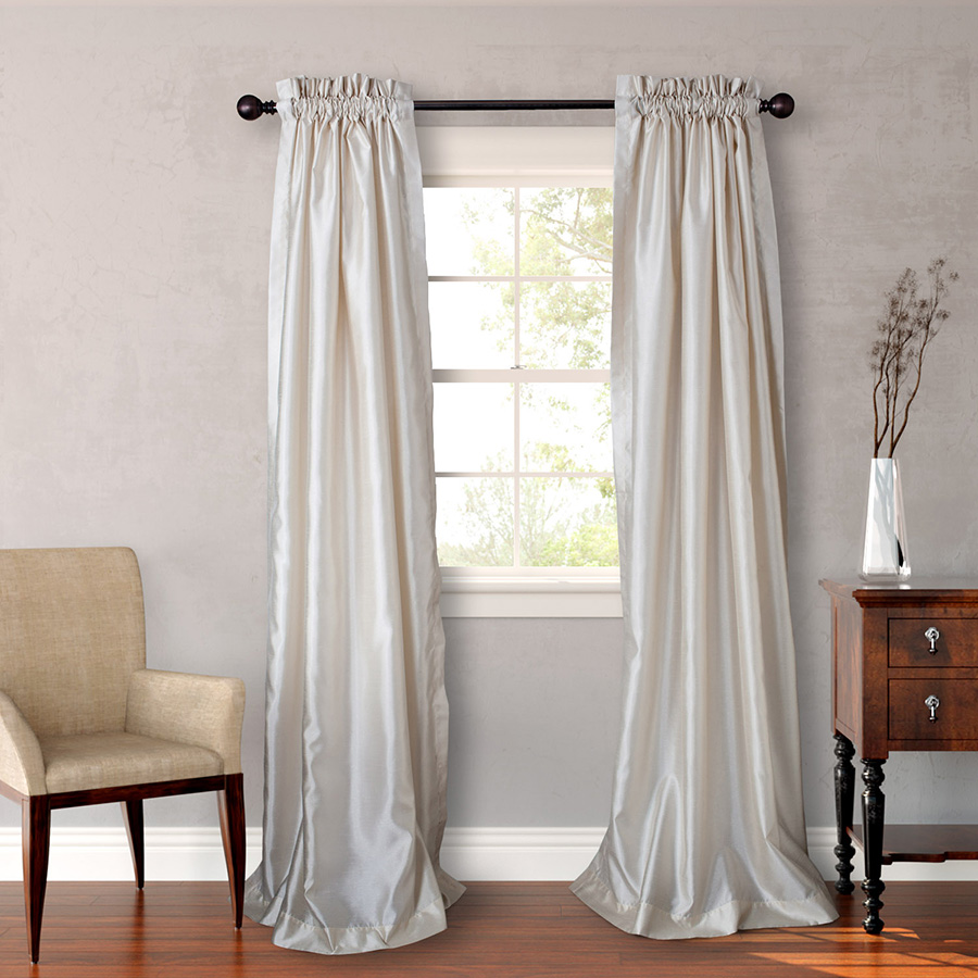 Curtains Ideas curtains 95 inches long : Heritage Landing Ivory Window Treatments from Beddingstyle.com