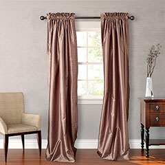 Heritage Landing Taupe Window Treatments