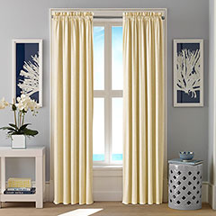 Nautica Hester Shore Yellow Window Treatment