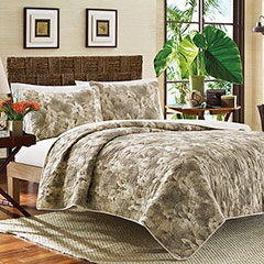 Tommy Bahama Hibiscus Haven Quilt Set