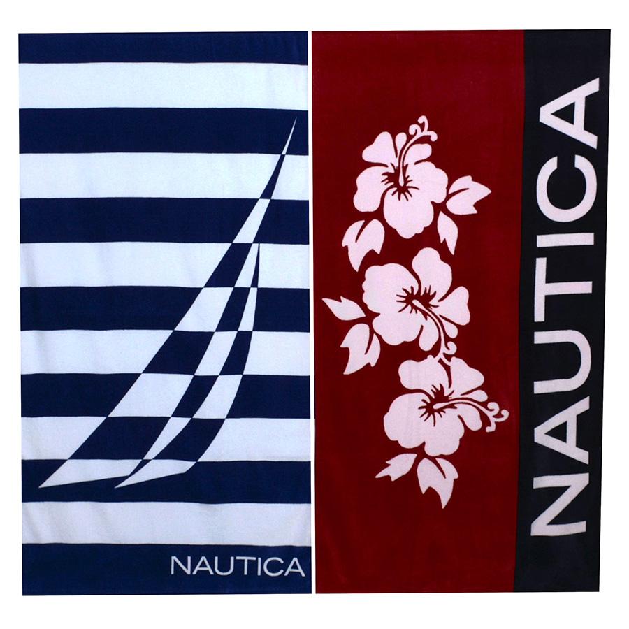 Beach Towel Nautica Hibiscus J Class