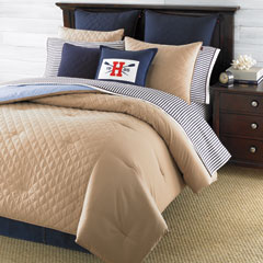 Hilfiger Prep Khaki Comforters and Duvet Covers