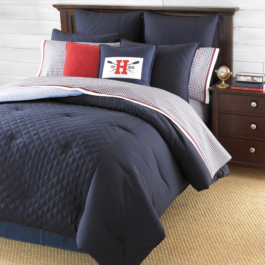 Tommy Hilfiger Hilfiger Prep Midnight Bedding Collection