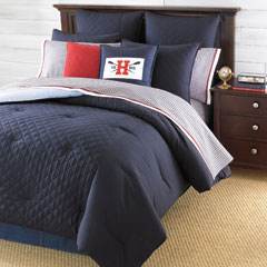 Hilfiger Prep Midnight Comforters and Duvet Covers