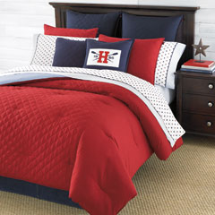 Hilfiger Prep Red Comforters and Duvet Covers