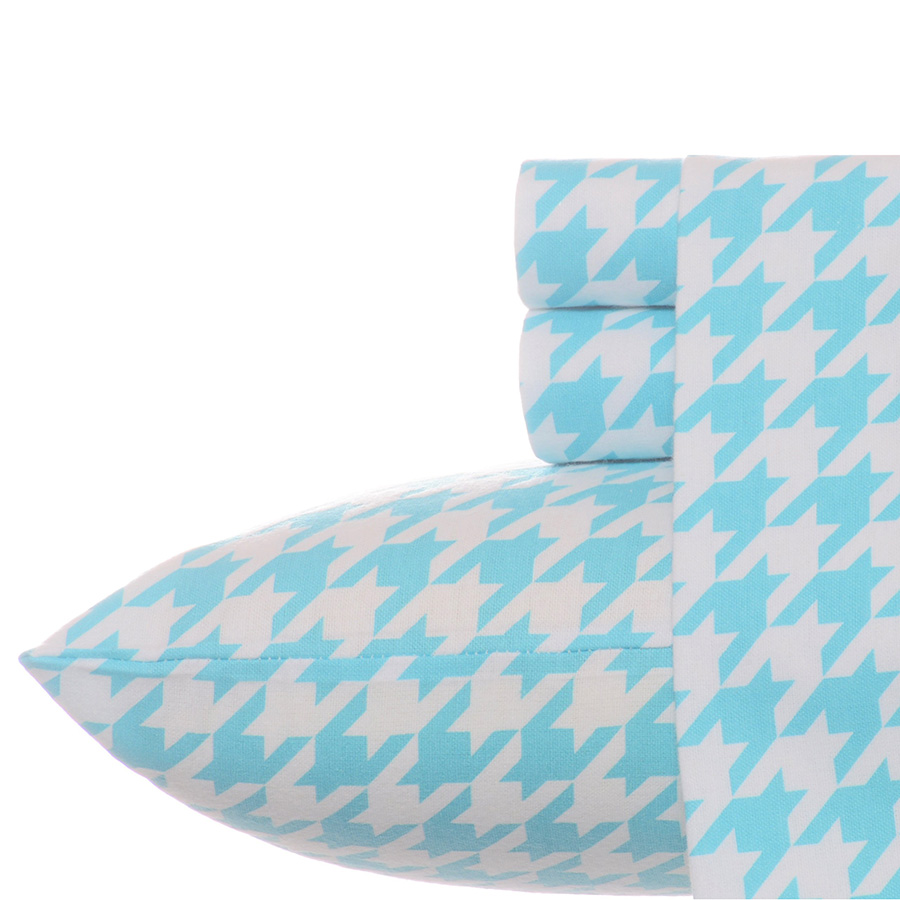 Full Sheet Set Teen Vogue Houndstooth