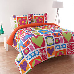 Agatha Ruiz De La Prada Icon Patch Comforter Set