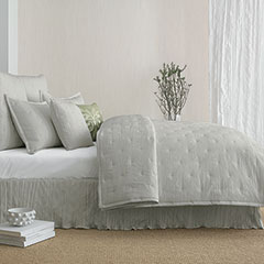 In The Groove Gray Coverlet